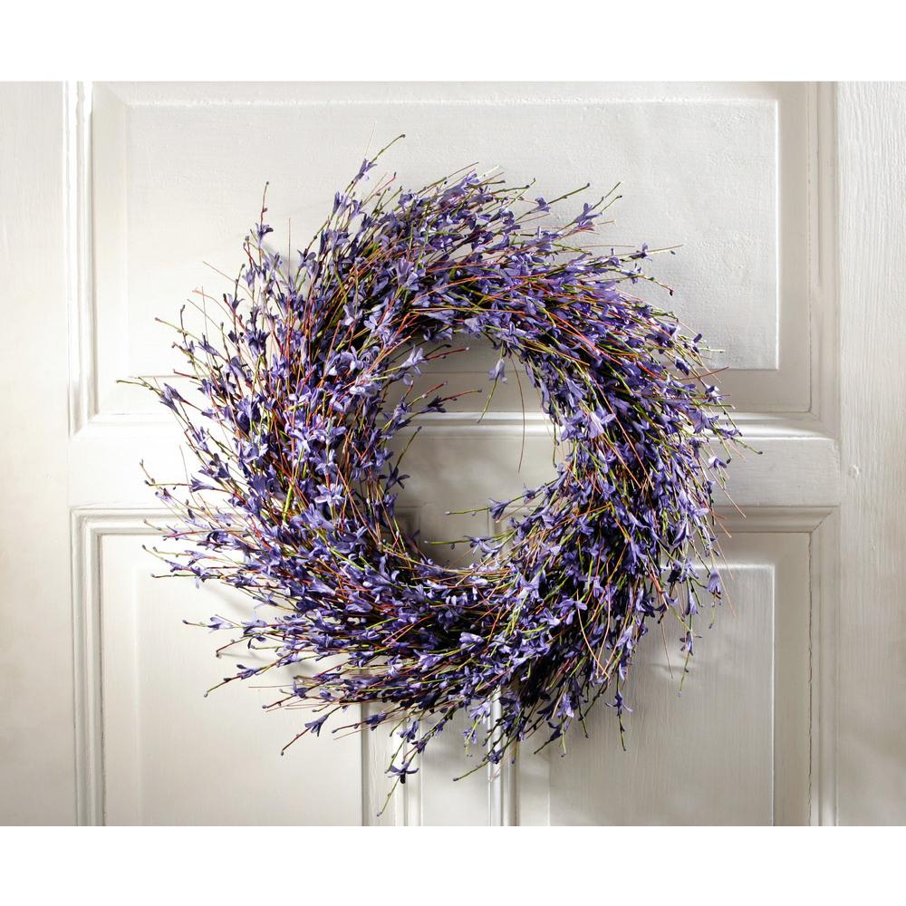 Lavender Inspired Purple Dried Door Wreath