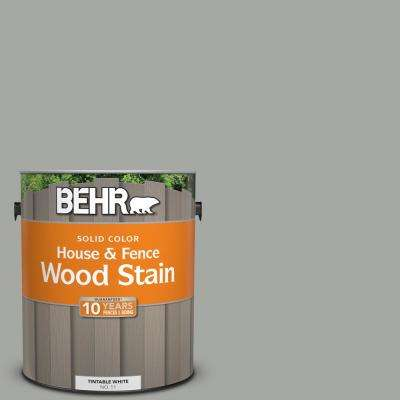 1 gal. #ECC-35-1 Silver Clouds Solid Color House and Fence Exterior Wood Stain