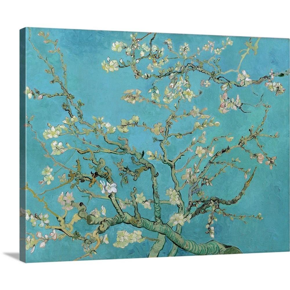 Greatbigcanvas Almond Blossom By Vincent 1853 1890 Van Gogh