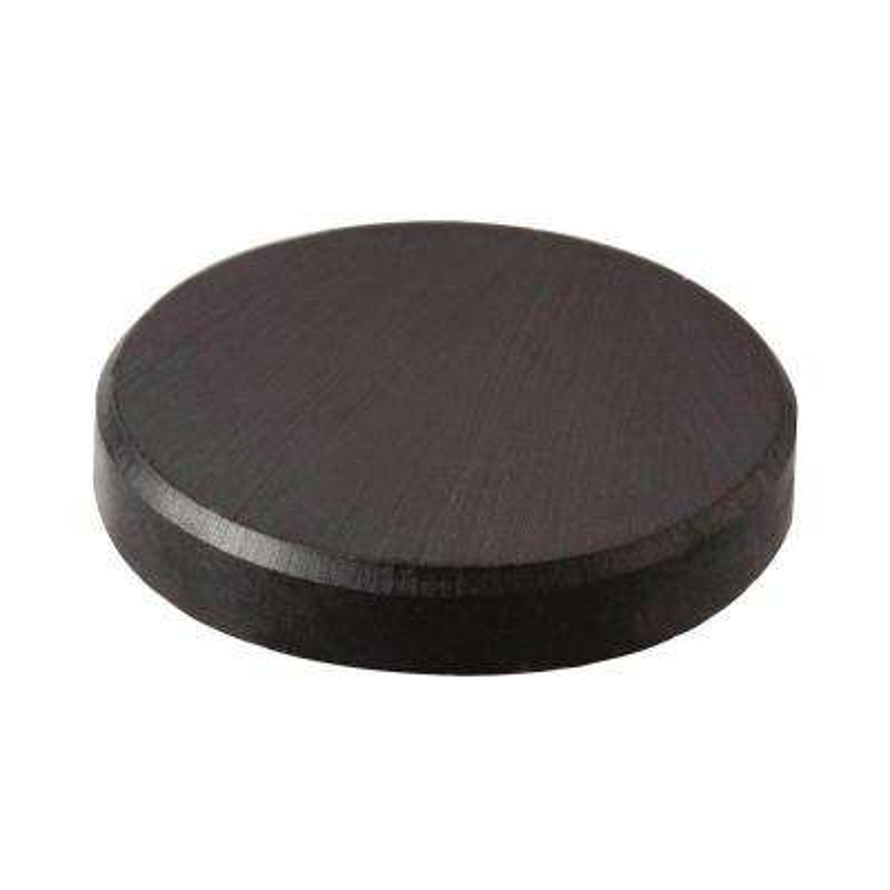 3/4 in. Diameter Black Disc Magnet (8-Pack)