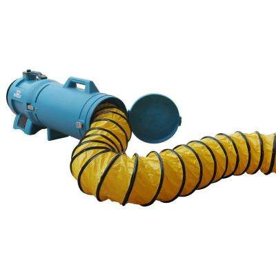25 ft. PVC Ducting Hose with Carrier