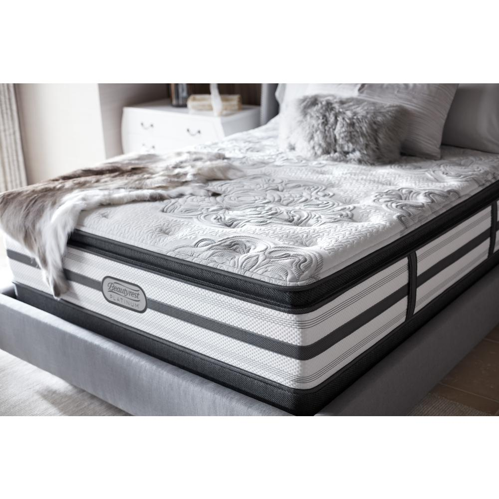 beautyrest south haven california king size luxury firm pillow top low profile mattress set. Black Bedroom Furniture Sets. Home Design Ideas