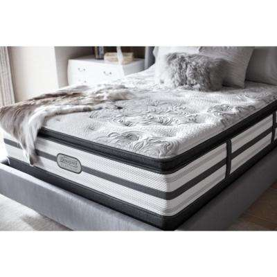 South Haven California King-Size Luxury Firm Pillow Top Low Profile Mattress Set