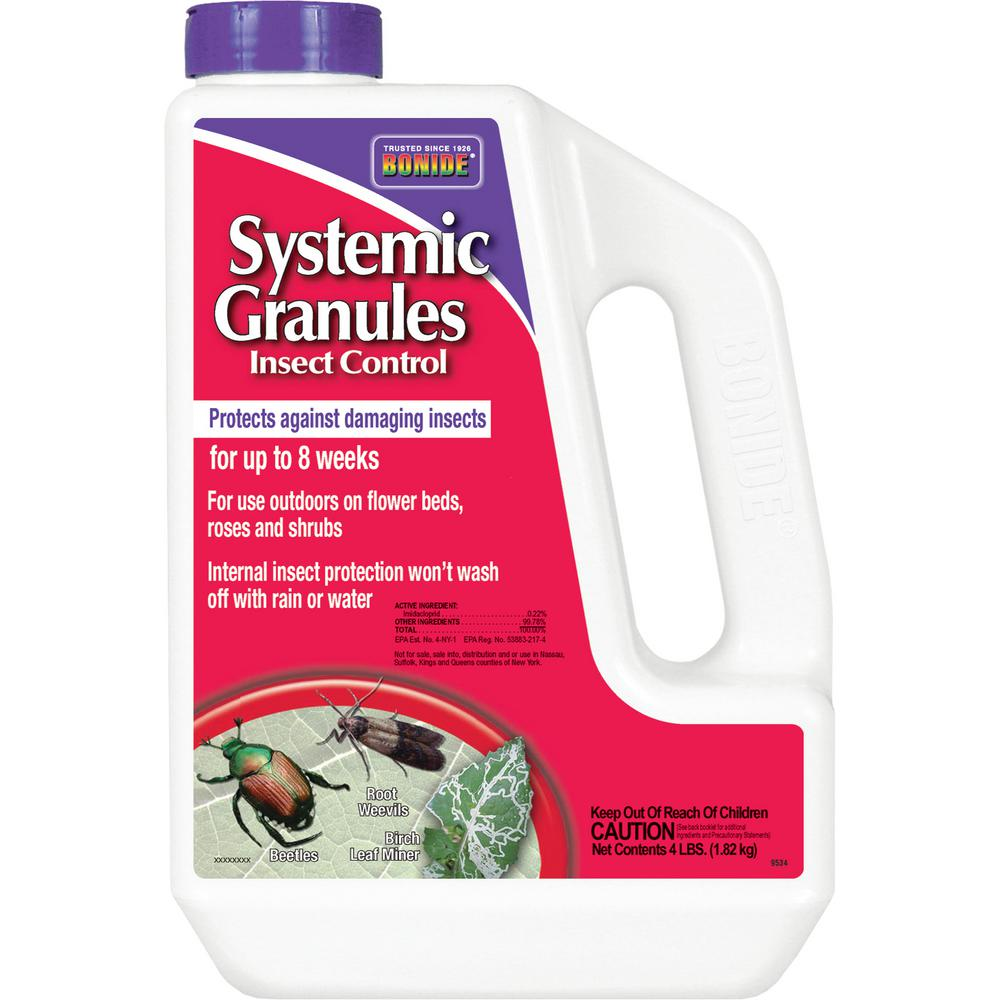 Bonide Product 4 lbs. Systemic Insect Control Granules