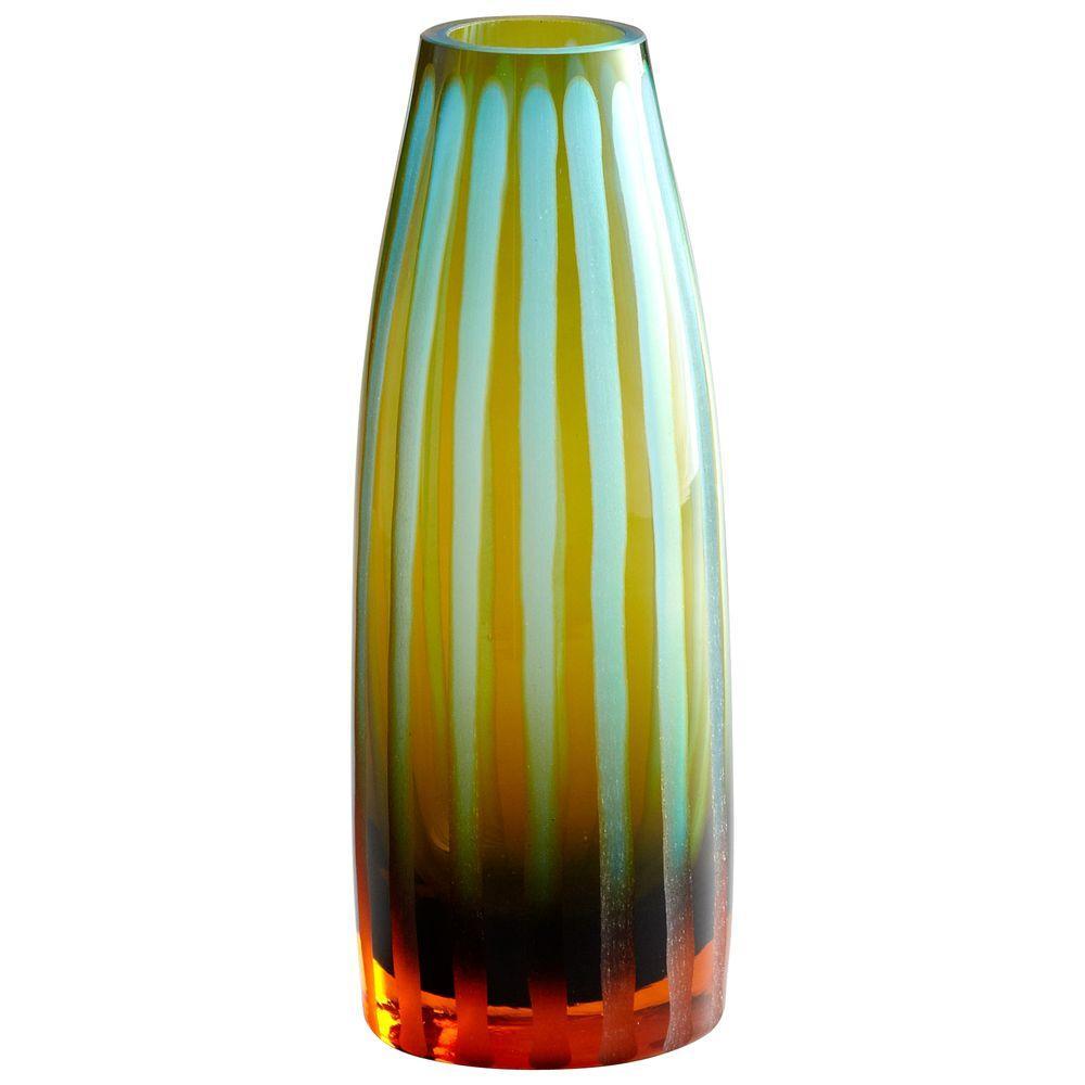 Filament Design Prospect 11.5 in. x 3 in. Red Vase