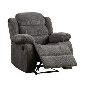 Outstanding Furniture Of America Jordina Gray Chenille Recliner Chair Bralicious Painted Fabric Chair Ideas Braliciousco