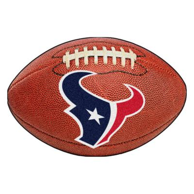 NFL Houston Texans Photorealistic 20.5 in. x 32.5 in Football Mat
