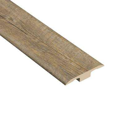 Pine Winterwood 1/8 in. Thick x 1-3/8 in. Wide x 94-1/2 in. Length Vinyl T-Molding
