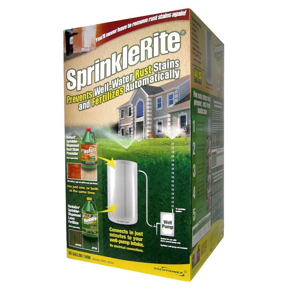 Sprinklerite Automatic Rust Prevention And Fertilization System