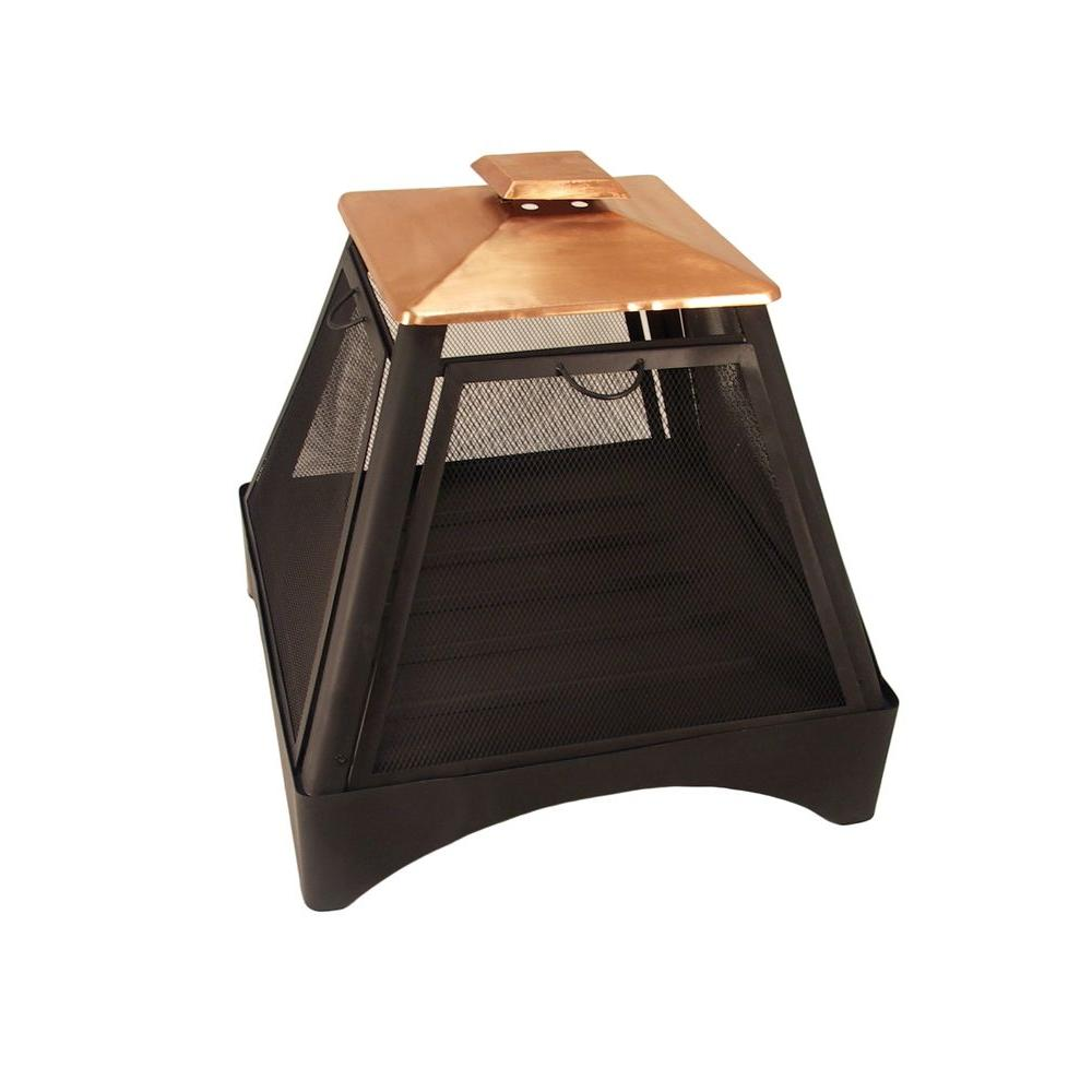 Catalina Creations Copper Pagoda Fire Pit-AD283C