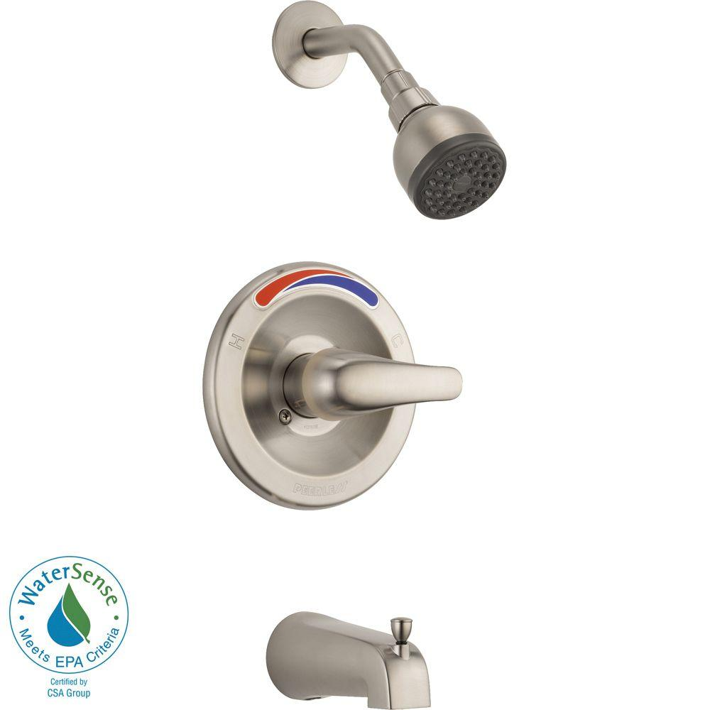 Peerless Single Handle Tub And Shower Faucet Trim Kit In