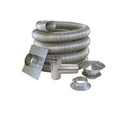 5 in. x 25 ft. All Fuel Stainless Steel Kit