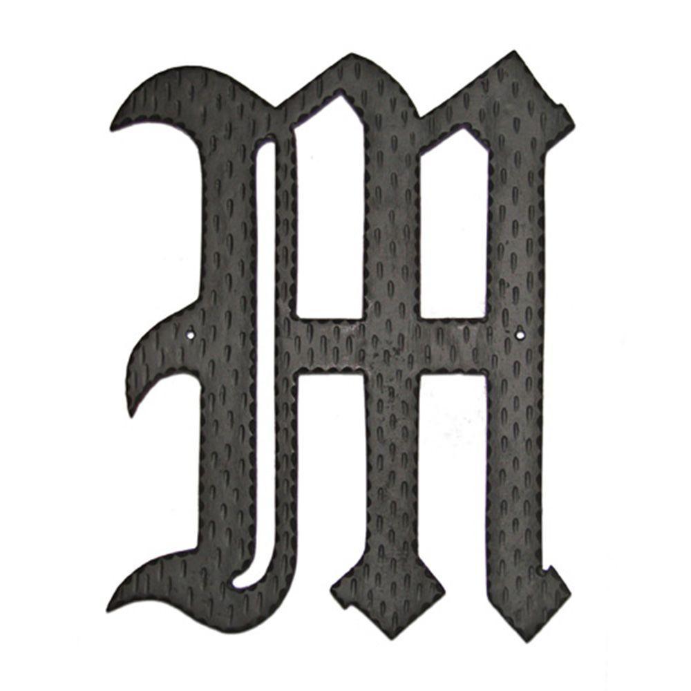 16 in. Home Accent Monogram M
