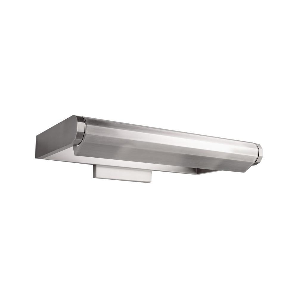 Kent 17 in. Brushed Nickel LED Adjustable Picture Light, 3000K