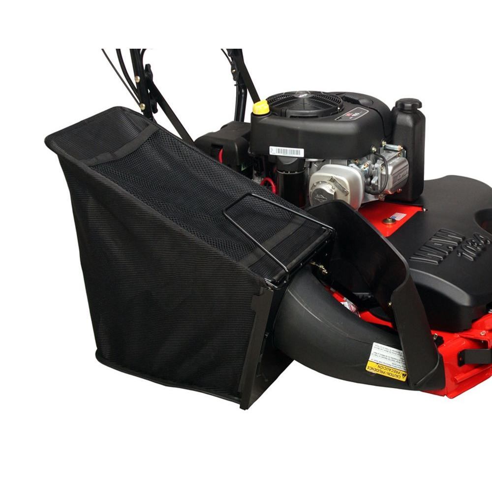 Ariens 34 in. WAW Side Catcher Bagger for Wide Area Walk Mower-DISCONTINUED