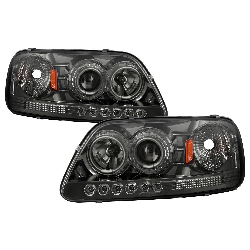 Spyder Auto 5010278 Halo LED Projector Headlights Fits 97-03 Expedition F-150