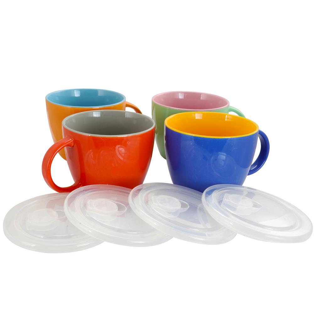 On The Go 25 oz. Soup Mug (Set of 4)