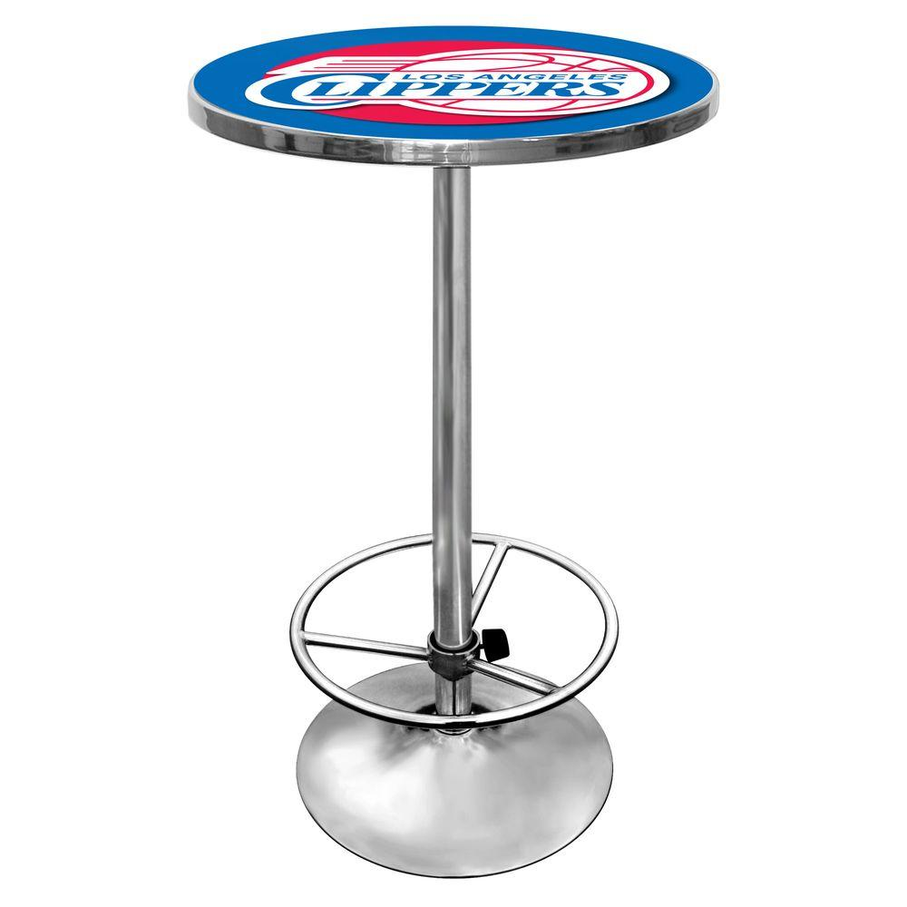 NBA Los Angeles Clippers Chrome Pub/Bar Table