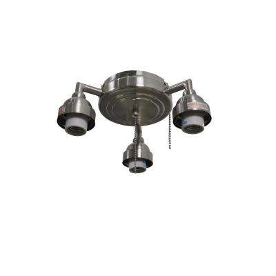 Trentino II 60 in. Brushed Nickel Light Kit (New Version)