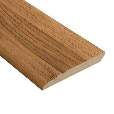 Hickory 1/2 in. Thick x 3-13/16 in. Wide x 94 in. Length Laminate Wall Base Molding
