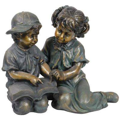 And Boy Reading Statue Set Includes 2 Statues