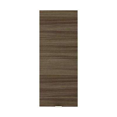 Textures Collection 12 in. W x 30 in. H x 5 in. D Surface-Mount Bathroom Medicine Cabinet in Driftwood