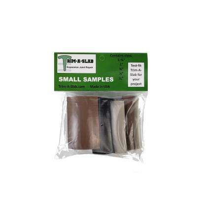 3 in. Small Concrete Expansion Joint Sample Pack
