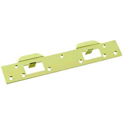 Polished Brass Dual Security Door Strike