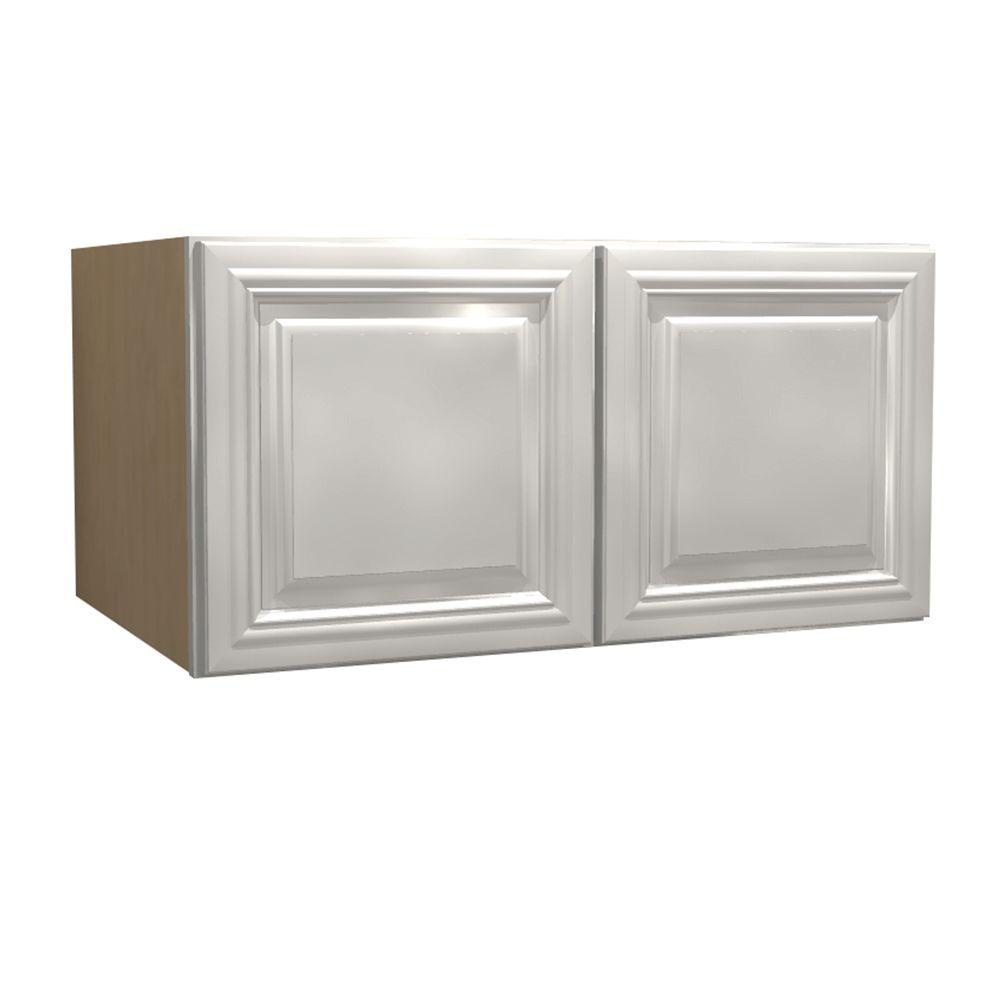 Home Decorators Collection Coventry Assembled 30x18x24 In Double Door Wall Kitchen Cabinet In