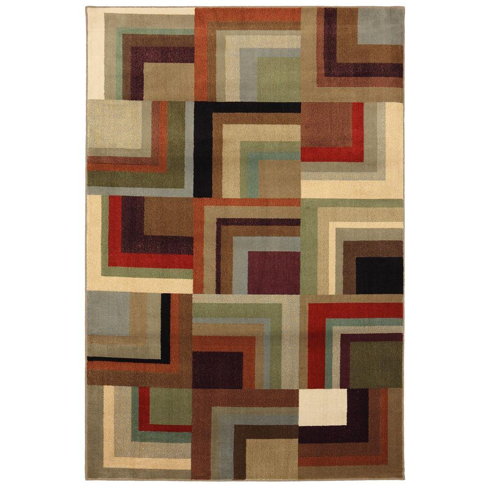 American Rug Craftsmen Kitty Hawk Shitake 3 ft. 6 in. x 5 ft. 6 in. Area Rug