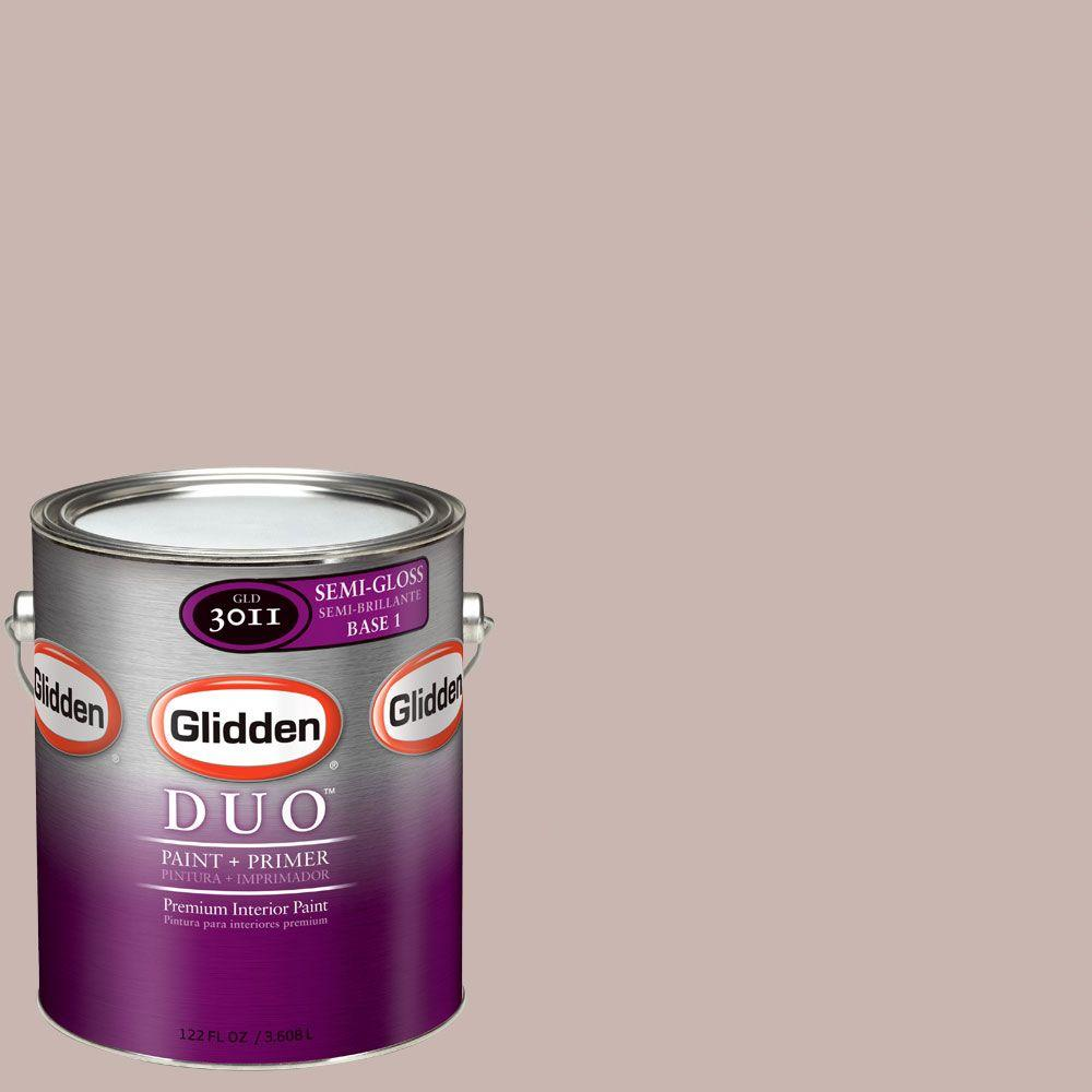 Glidden DUO Martha Stewart Living 1-gal. #MSL171-01S Pink Granite Semi-Gloss Interior Paint with Primer-DISCONTINUED