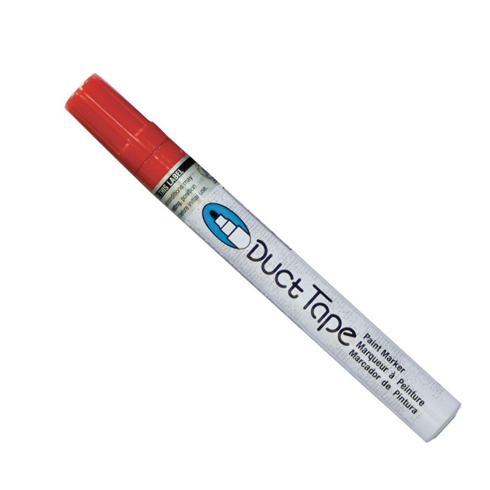 Marvy Uchida Red Broad Point Duct Tape Paint Marker