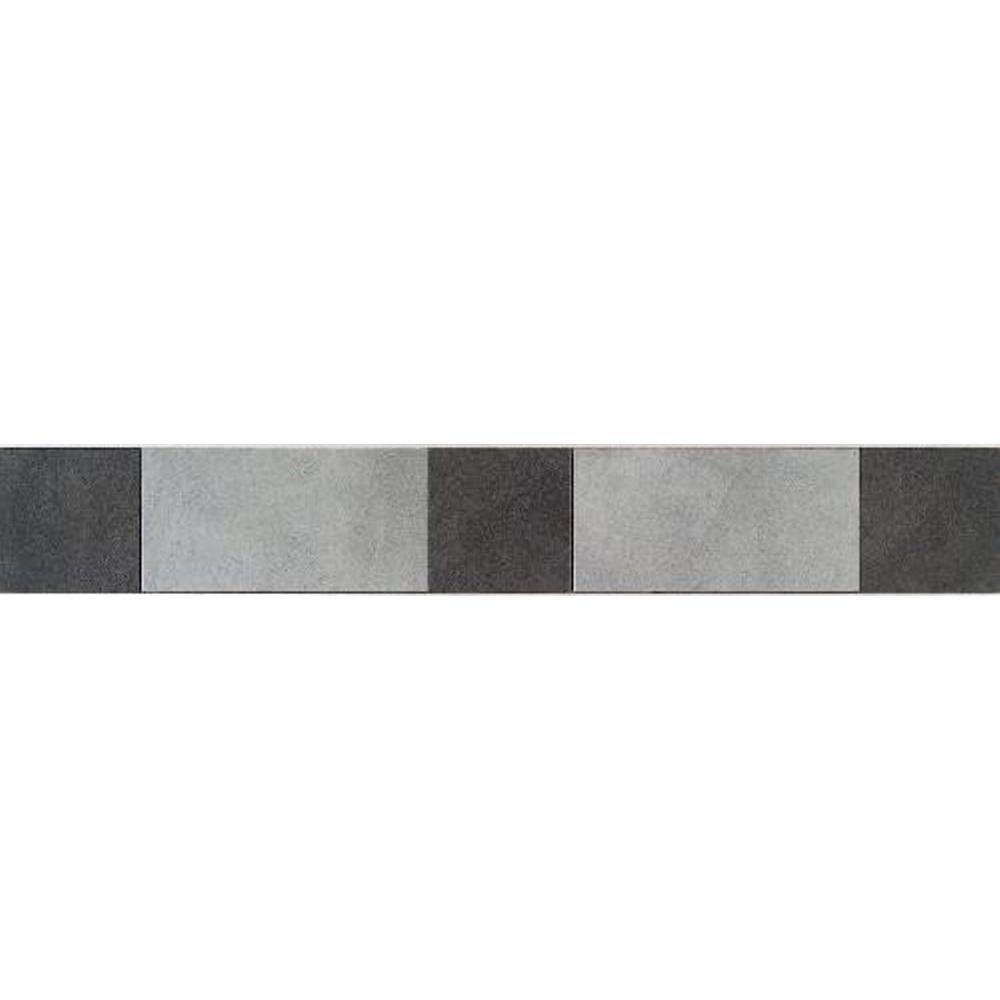 Daltile Veranda Multicolor 3-1/4 in. x 20 in. Deco B Porcelain Accent Floor and Wall Tile (10 sq. ft. / piece)