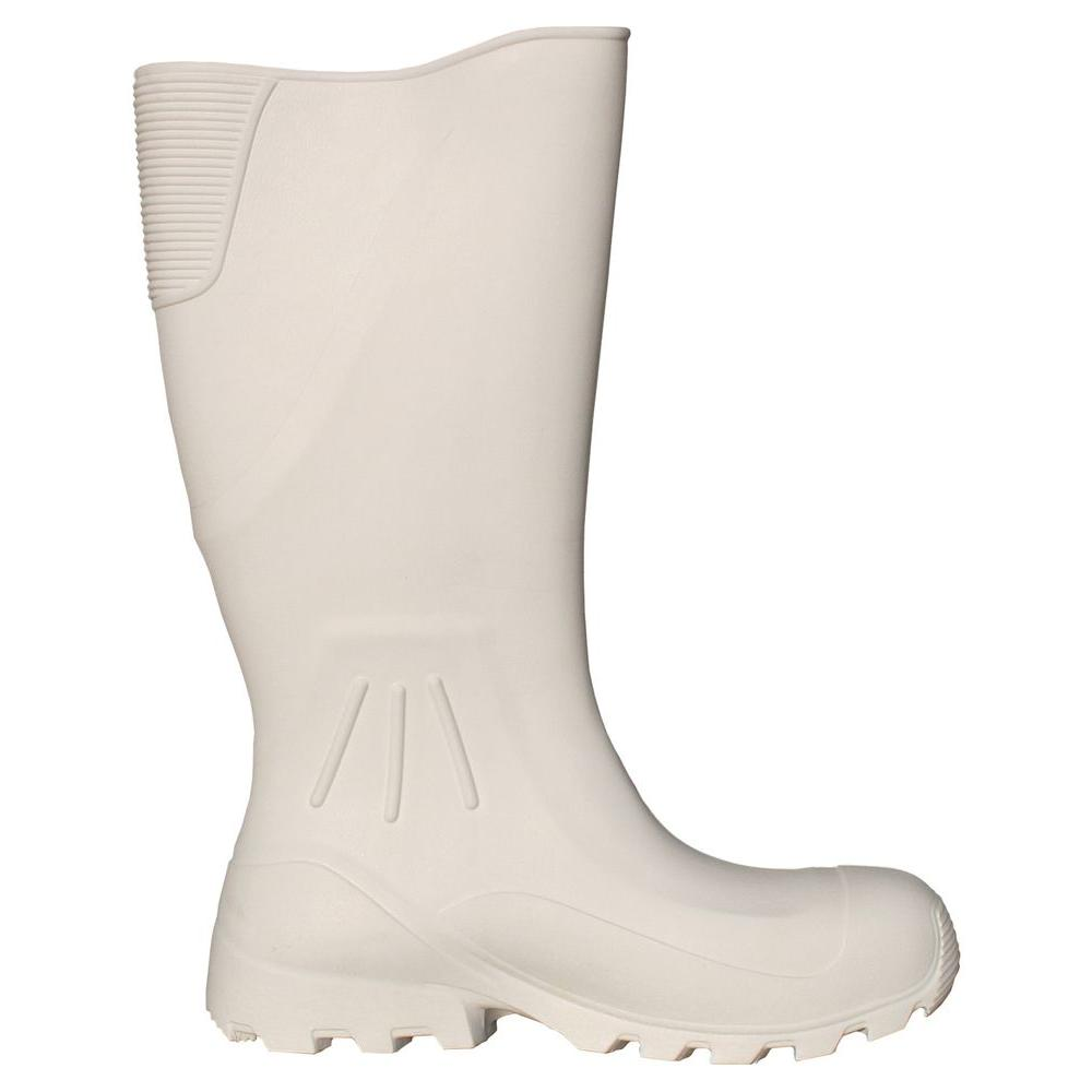 Billy Boots 16 in. EVA White Cruiser Boot Size 8