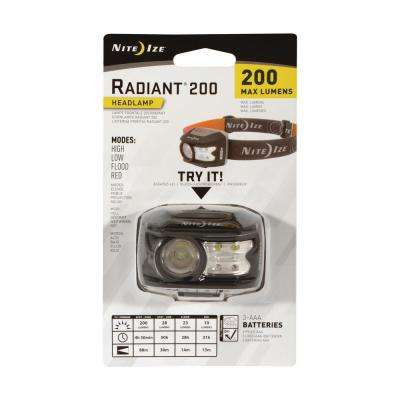 Radiant 200 Headlamp