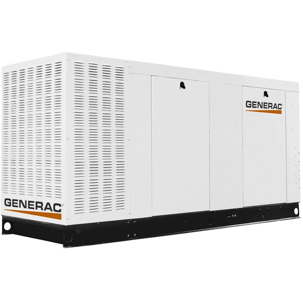 130,000-Watt 120-Volt/208-Volt 3-Phase Liquid Cooled Standby Generator