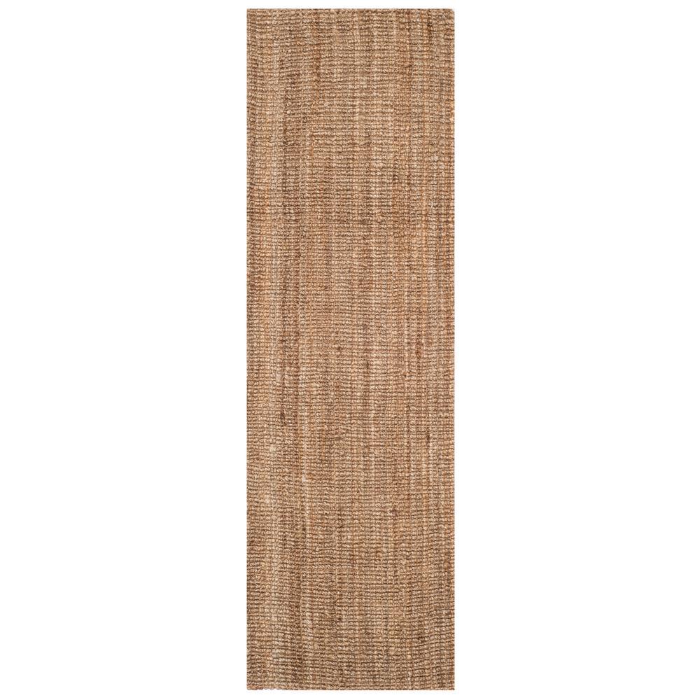 Safavieh Natural Fiber Beige/Gray 2 ft. 6 in. x 12 ft. Indoor Runner Rug
