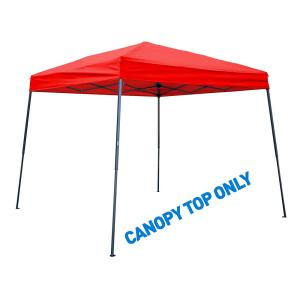 Trademark Innovations 8 ft. x 8 ft. Red Square Replacement Canopy Gazebo Top for 10 ft.... by Trademark Innovations