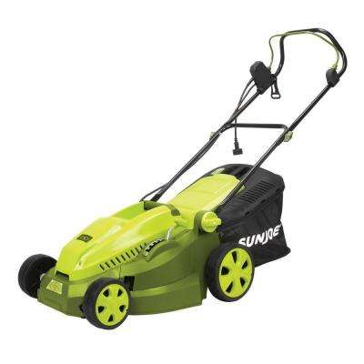 Mow Joe 16 in. 12-Amp Corded Electric Walk Behind Push Mower with Mulcher