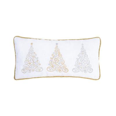 12 in. x 24 in. Holiday Glam Pillow
