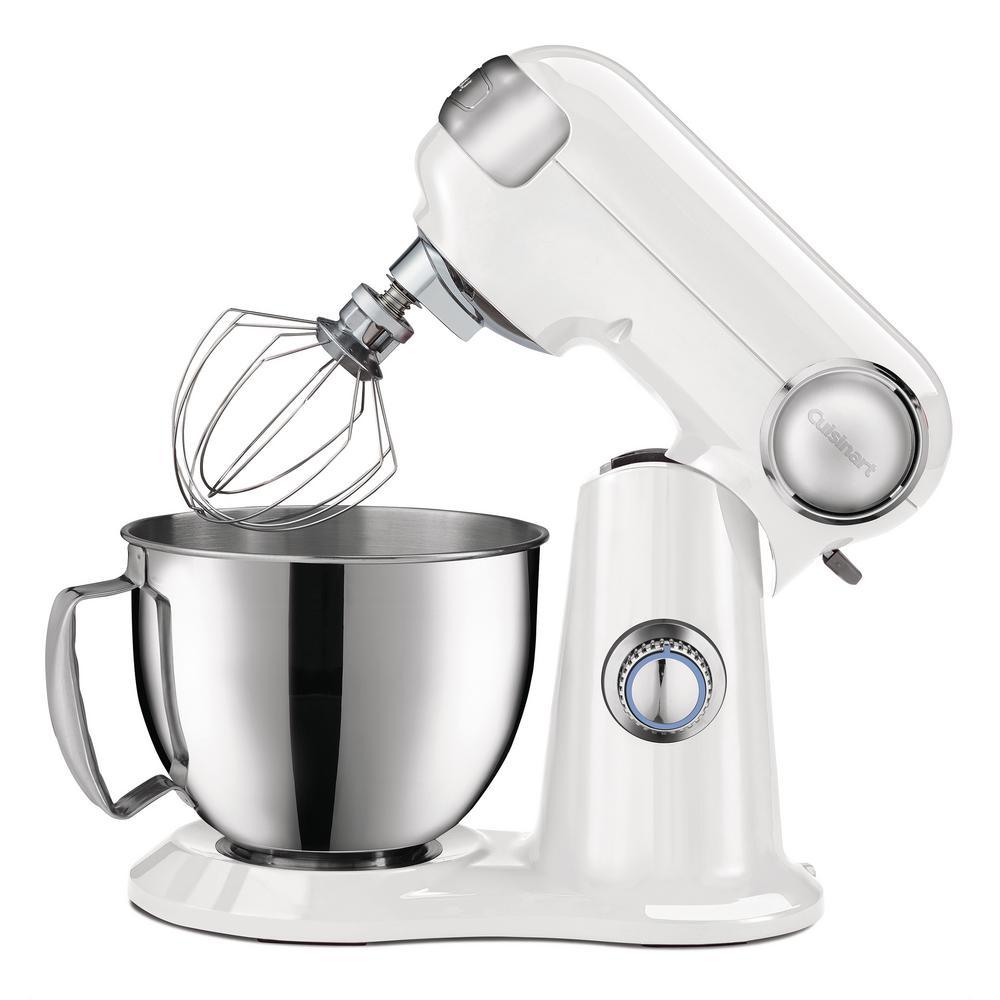 3.5 Qt.  White Precision Master Petite Stand Mixer