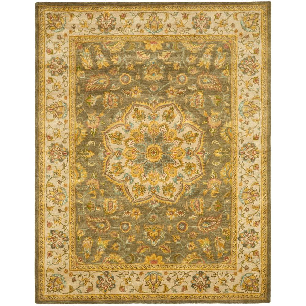 Safavieh Heritage Green/Taupe 11 ft. x 17 ft. Area Rug