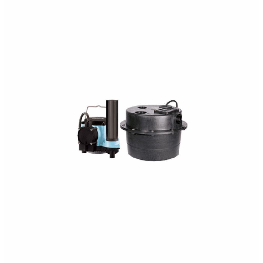 WRSC-6 Compact Drainosaur 0.3 HP Water Removal Pump System