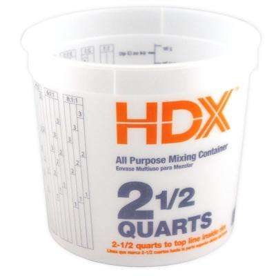2.5 qt. All Purpose Mixing Container