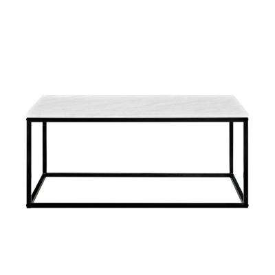 Jordan Marble Finish 42 in. Coffee Table