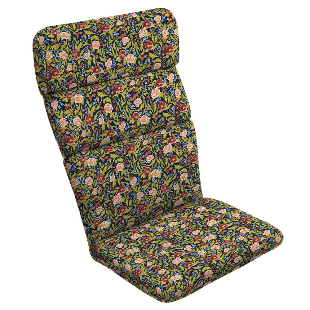 Arden Selections Cecelia Floral Adirondack Chair Cushion Tj4d129b