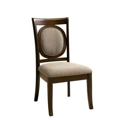 Evelyn Walnut Dining Chair (Set of 2)