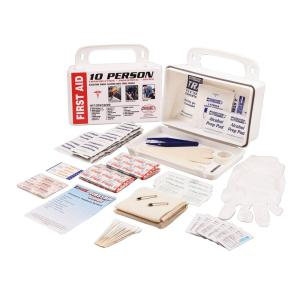 Rapid Care 106-Piece 10 Person OSHA/ANSI Poly First Aid Kit by Rapid Care