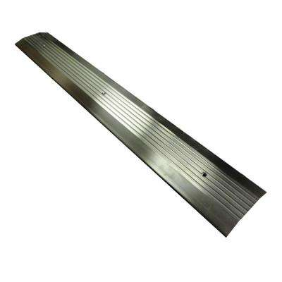 5 in. x 36 in. Aluminum Flat Saddle Threshold