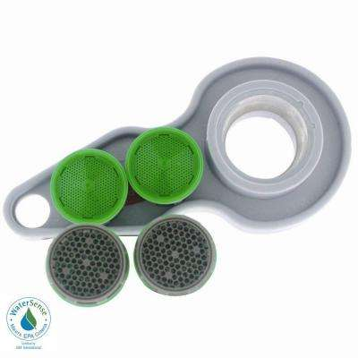 1.5 GPM Water-Saving Household Aerator Replacement Kit